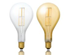 Bombilla gigante de LED retro estandar rosca E40  Bombilla gigante de LED retro alargada rosca E40 #bombillas #led #decoracion #interiorismo #retro #vintage