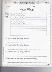 Lots of USA Flag worksheets