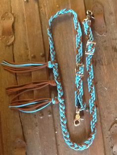 Breast collar horse tack equestrian braided by TiffanysBraidedTack, $25.00