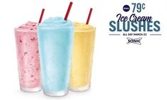 REMINDER: 79-Cent Small Sonic Ice Cream Slushes Today - The ...