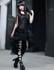 robe gothique romantique lolita gothique pinterest. Black Bedroom Furniture Sets. Home Design Ideas
