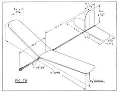 Картинки по запросу simple chuck glider plans