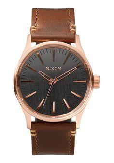Nixon Watch Sentry 38 Leather