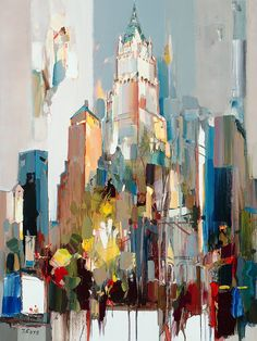Josef Kote - In Harmony, Woolworth Building, NYC