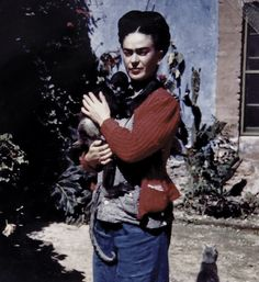 July 6, 1907:  Artist Frida Kahlo Born    On this day in 1907, female painter and wife of fellow Mexican artist Diego Rivera, Frida Kahlo, was born in Mexico City in her famous Blue House.  Known primarily for her striking surrealist self-portraits, Frida was also an avid political activist. The Blue House (La Casa Azul) in which she was born and returned to in her last years is now a museum dedicated to her life.