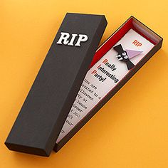 Halloween Party Invitations & Cards: RIP Invite