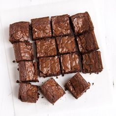 The Very best Chocolate Brownies Recipe from Nigel Slater