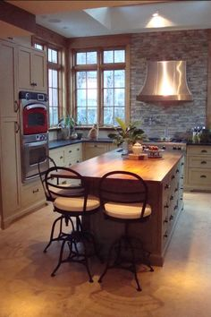 Kitchen Ideas No Upper Cabinets sink in front of low window / banquette / old house - kitchens