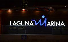 LagunaMarina signage