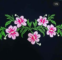 Embroidery Stitches Tutorial, Elsa, Floral, Flowers, Projects, Cross Stitch, Kitchen, Cute, Dots