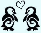 Penguin Love tattoo! yes! I really like this one too. So I don't know if I want 1or 2