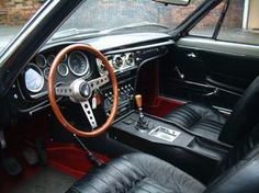 Interior of Maserati Sebring