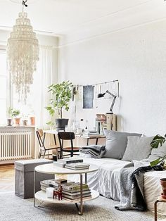 This Is How the Scandinavians Do Bohemian at Home via @MyDomaine