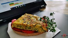 Frittata di zucchine alla ligure | Qui da Noi Blog Salmon Burgers, Avocado Toast, Breakfast, Ethnic Recipes, Blog, Morning Coffee, Blogging