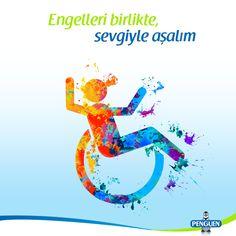10-16 Mayıs Engelliler Haftası kutlu olsun. Hayatı paylaşmak için engel yok. #EngellilerHaftası