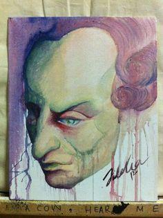 Immanuel Kant by Fidelia Lee