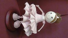 Focucha bailarina hecha en nuestro taller... a que es bonita?