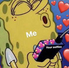 New Memes Relatable Hilarious Ideas Memes Spongebob, Cartoon Memes, Cartoons, 100 Memes, Stupid Memes, Memes Amor, Sapo Meme, Memes Lindos, Flirty Memes