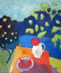 summer feeling -  60 x 50 cm - acryl - canvas