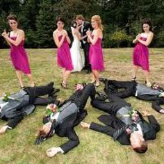 Hahhahha a must do at my wedding!