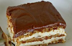 Álom szelet. Sütés nélküli krémes csoda, 15 perc alatt elkészülsz vele! - Blikk Rúzs Cookie Desserts, No Bake Desserts, Delicious Desserts, Dessert Recipes, No Bake Eclair Cake, Hungarian Cake, No Bake Pies, Sweet Tarts, Cake Ingredients