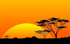 Image result for cartoon african background