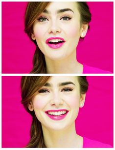 Lily Collins beautiful