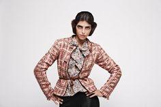 Gelfer Design A/W 2008 Handmade Art, Blazer, Pattern, Jackets, Vintage, Design, Women, Fashion, Down Jackets