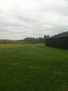 My big black barn