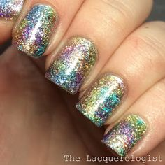 The Lacquerologist: OPI Sheer Tints + Floss Gloss Dimepiece