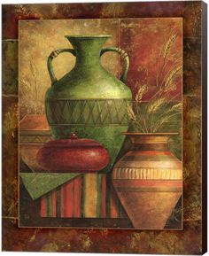 Metaverse Earthen Vessels Ii By Janet Stever Canvas Art Metaverse Earthen Vessels Ii By Janet Stever Canvas Art <!-- Begin Yuzo --><!-- without result -->Related Post Multicolor Authentic Frame, New Like Frame, Seller. 21 tips on how to plan a destinat Fine Art Amerika, Canvas Artwork, African Art, Online Art, Still Life, Art Decor, Art Drawings, Abstract Art, Art Prints