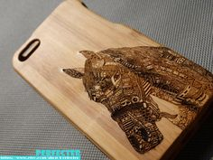 Engraved Horse iPhone Case, Wood iPhone 4/4s/5/5S case, Horse Walnut Wood iphone case, Bamboo wood iphone case,Engraving laser,iphone cover on Etsy, $24.85