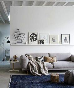 Distinctive Scandinavian Living Room