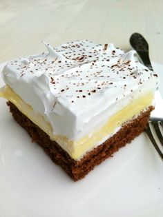 COOKam i guštam: Češki kolač Baking Recipes, Cookie Recipes, Dessert Recipes, Rodjendanske Torte, Kolaci I Torte, Torte Recepti, Croatian Recipes, Small Cake, Homemade Cakes