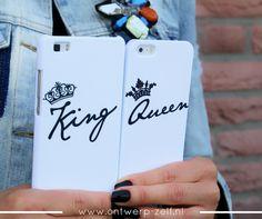 King Queen Cases - www.ontwerp-zelf.nl