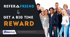 "Order Your Writing Service by referring to your friend and get a big time reward.Get benefit from our new ""refer and earn"" offer."