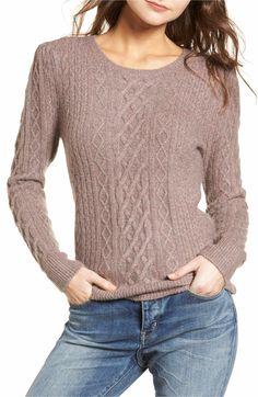 Main Image - Treasure & Bond Compact Cable Sweater