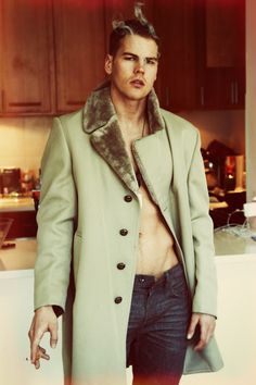 Travis Hanson | Green coat