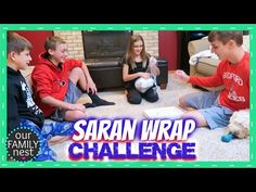 The Saran Wrap Ball Christmas Party Game Challenge (Original) - YouTube