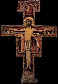 San Damiano Cross, 12th century, Assisi (900×1314)