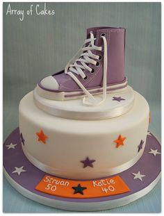 Converse Trainer Birthday Cake
