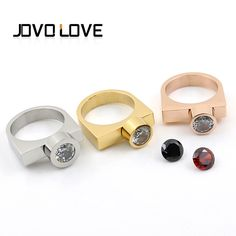 Find More Rings Information about Fashion Shackle Screw D Rings Jewelry with 3 CZ Stones Gold Plated Rings for Women Horseshoe D Stainless Steel Men's Ring Anel,High Quality austrian crystal rings,China crystal ring Suppliers, Cheap titanium ring from MSX Fashion Jewelry on Aliexpress.com