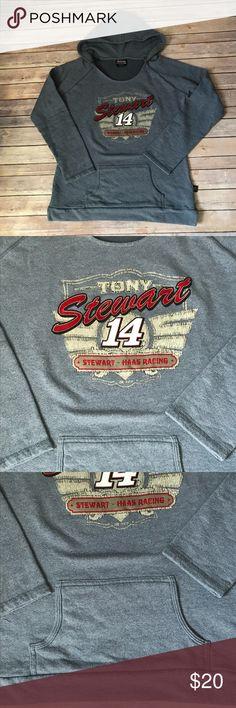 Tony Stewart 14 Racing Hoodie Tony Stewart Racing  #14 Tops Sweatshirts & Hoodies