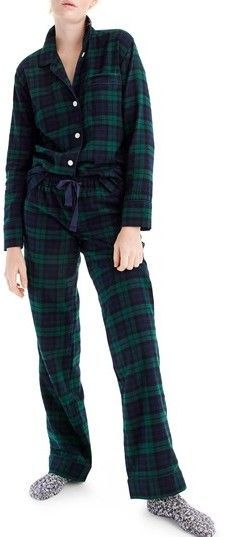 Crew J. Flannel Pajamas, Plaid Flannel, Pyjamas, Pjs, Pajamas Winter, Pajama Party, Pajama Set, Parachute Pants, J Crew