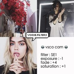Instagram media by tropical.filters - THE FILTER IS SE3 not SE1 sorry ✖️⭐️ // dark filter // ✖️⭐️ ↠ looks best with : anything! ↠ ps. matt healy (top right) is bae ↠ qotd : what kind if filters do you want to see?