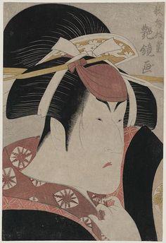 Title: Nakayama tomisaburō Title Translation: The Actor Nakayama Tomisaburo. Creator(s): Enkyō, Kabukidō, 1749-1803, artist Date Created/Published: 1796. Repository: Library of Congress Prints and Photographs Division Washington, D.C. 20540 USA