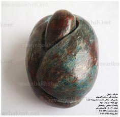 Birth,pottery sculpture by reyhaneh gorjian. Patineh by hossein ravanbakhsh.1390 / 2011