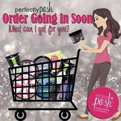 "I am placing an order tomorrow! Let me know if you would like to order anything! Want to know what all the ""Posh"" is about? Message me for some free samples:) Click the link below to sign up for our Perks Rewards Program and shop online! https://www.poshspa.us"