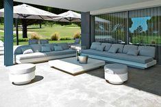 Nordic Coffee and Side Table Modern Sofa, Modern Furniture, Outdoor Furniture Sets, Nordic Sofa, Outdoor Seating, Outdoor Decor, Elegant Sofa, Side Coffee Table, Modular Sofa