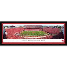 "Nebraska Cornhuskers 46"" x 18"" Select Frame Panoramic Photo - $149.99"